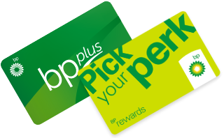 BP Plus & Qantas Graphic